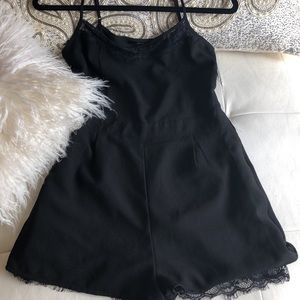 Sexy versatile black romper